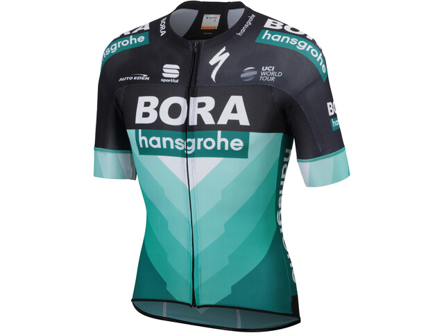 Sportful Team Bora-HG Bodyfit Pro Light SS Jersey Herren green-black